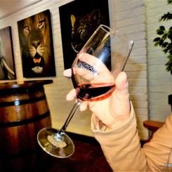 Degustação de vinho co chocolate em Groot Constancia - Vinícola perto de Cape Town na Africa do Sul