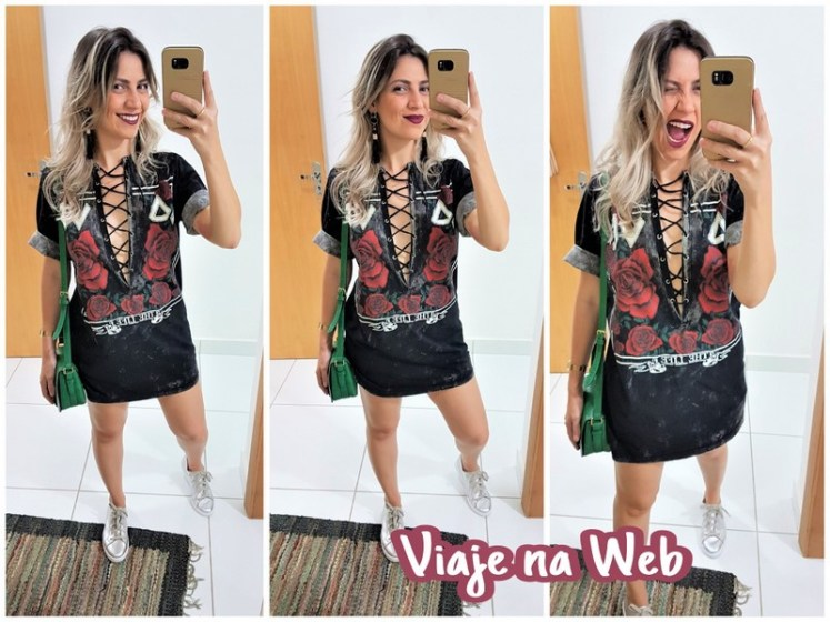 Look para usar no Rock in Rio