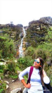 Cachoeiras no Peru - Trilha da Laguna 69