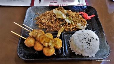 Refeição em Nikko custou 900 ienes