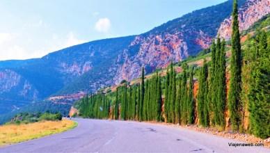 viagem de carro na Grécia - aluguel de carro