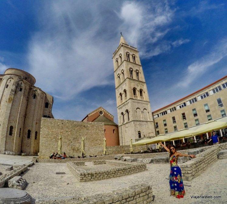 Praça central de Zadar