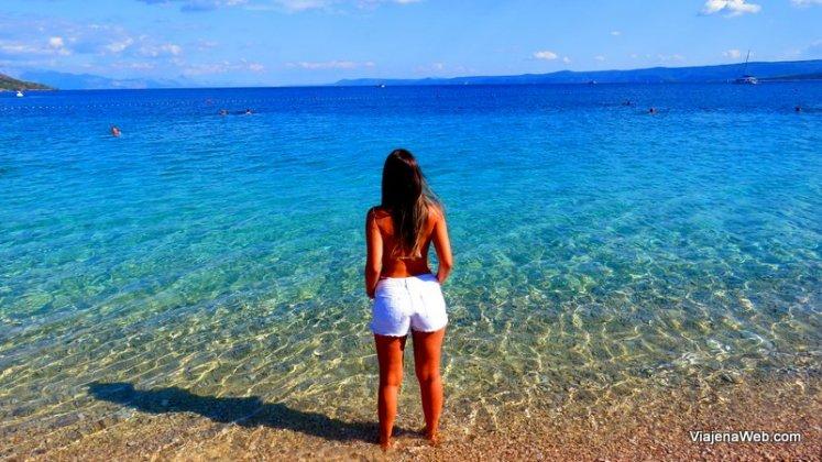 praias na Croácia