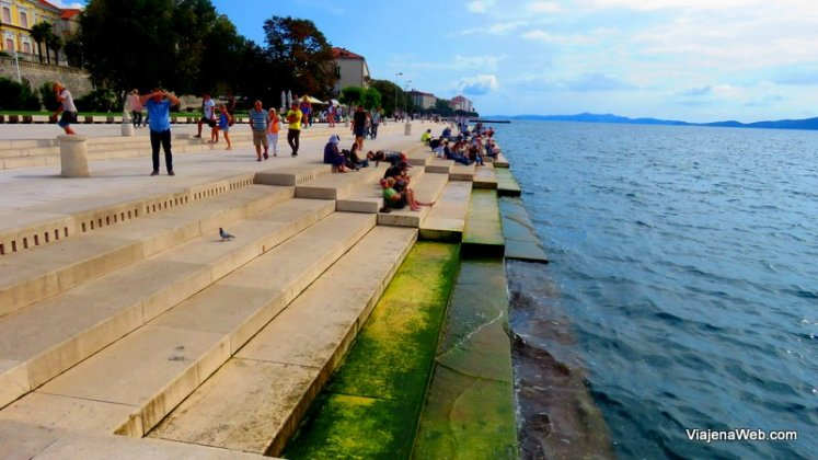Sea Organ - Piano no Mar Croacia