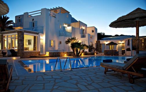 Onde ficar em Mykonos - Paradise Beach - Paradise View Hotel