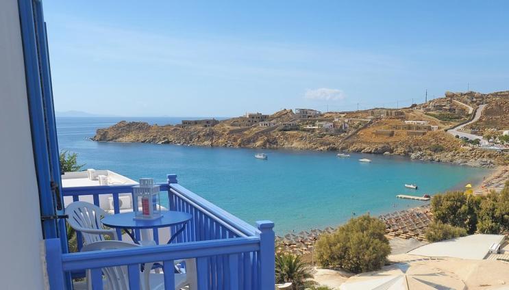 Onde ficar em Mykonos - Paradise Beach - Super Paradise Suites & Rooms