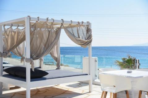 Onde ficar em Mykonos - Paradise Beach - Tropicana