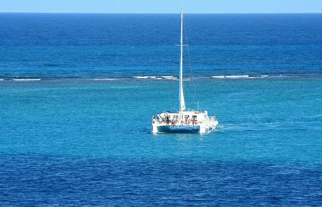 Catamarán en Puerto Plata y Montecristi