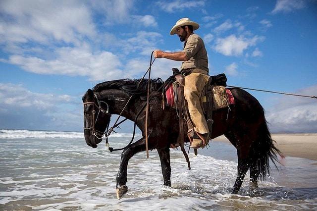 Rutas a caballo en la playa Bayahibe