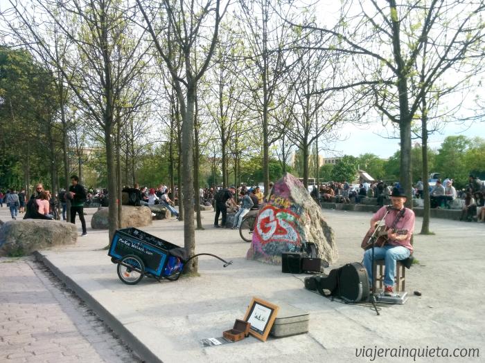 Cantantes Mauerpark (1)
