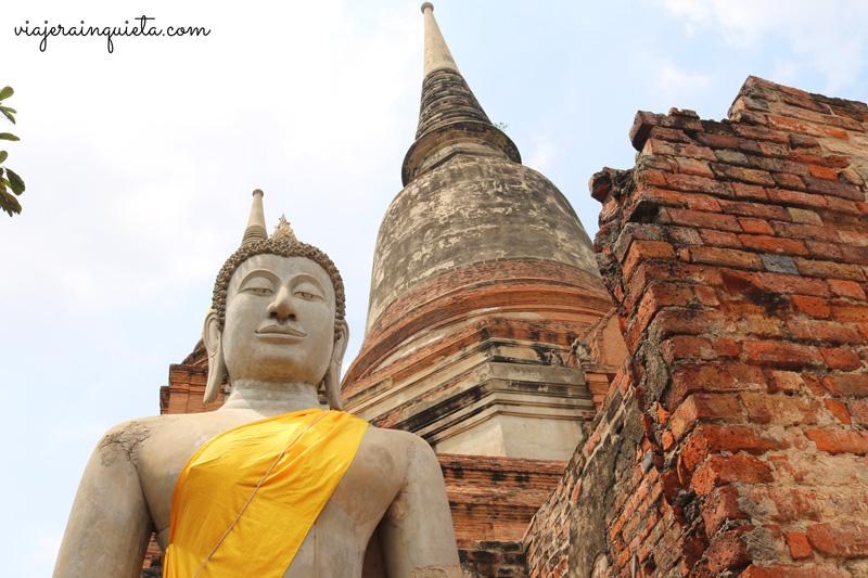 Ruta por los templos de Ayutthaya