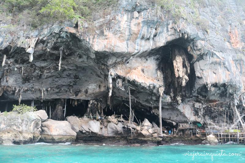 Cueva-de-los-vikingos-koh-phi-phi