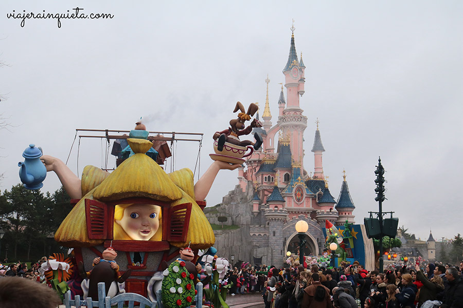 Cabalgatas Disney Paris