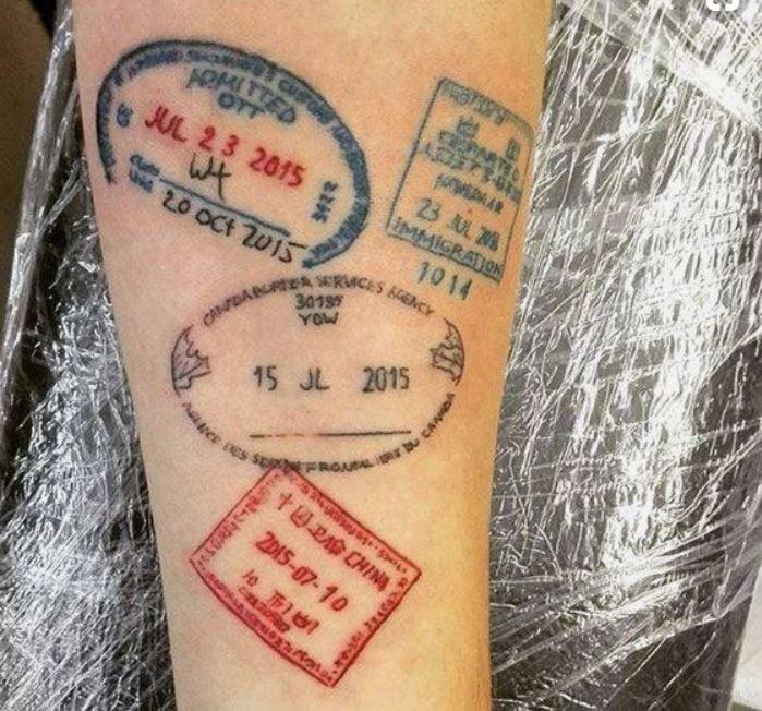 Tatuajes Para Viajeros 45 Ideas Frescas Para Ti