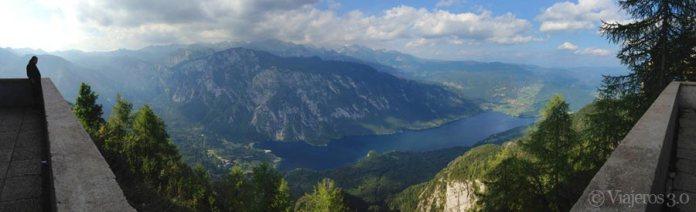 vistas del lago Bohinj, qué ver cerca de Liubliana