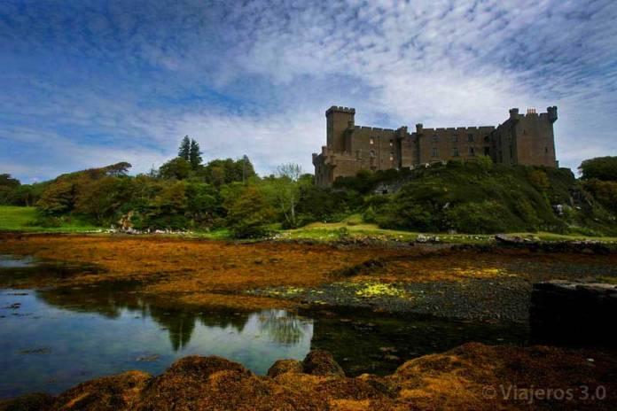 Castillo de Dunvegan en la isla de Skye