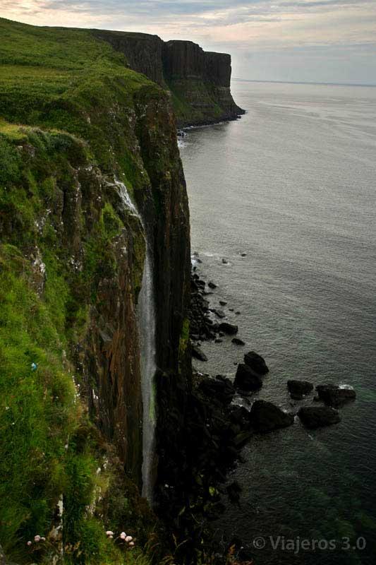 Kilt Rock isla de Skye
