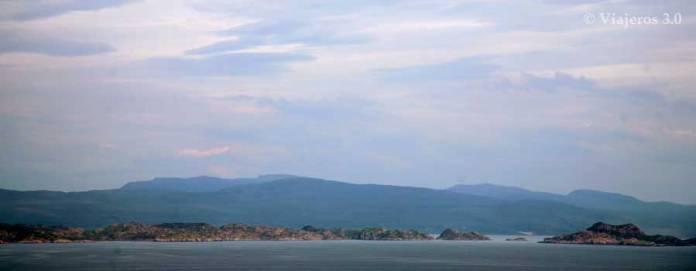 panorámica de la isla de Skye en Escocia