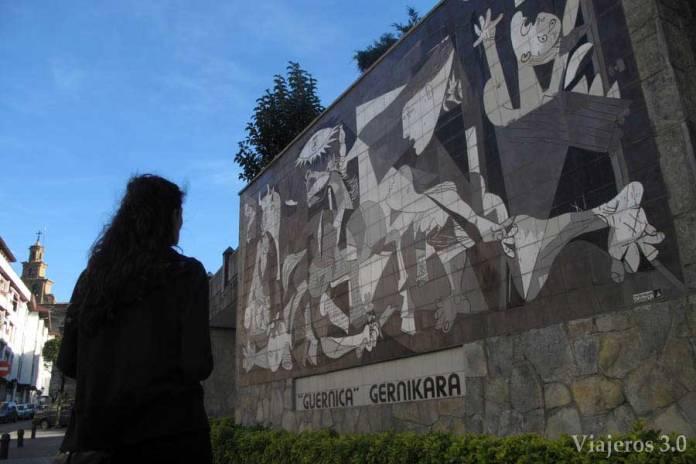 Picasso de Gernika, Réserve d'Urdaibai