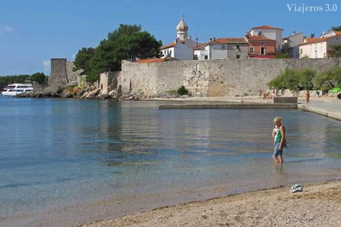 Krk, ruta por Croacia