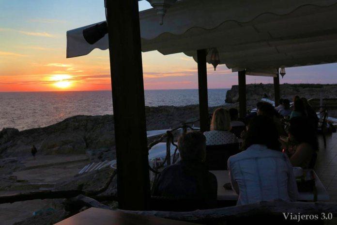 Bar Sa Posta de Sol, les meilleurs couchers de soleil à Minorque