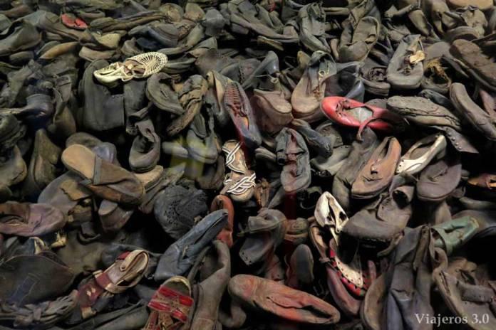 Exposiciones en la visita por Auschwitz