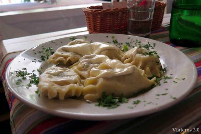 pierogi, comida típica polaca