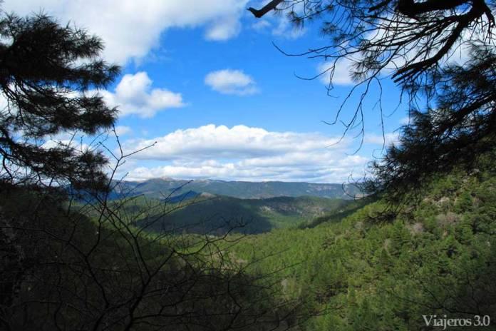 paisaje en los Calares del Río Mundo