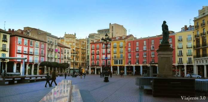 Que ver y que hacer en Burgos en un fin de semana, Plaza Mayor de Burgos