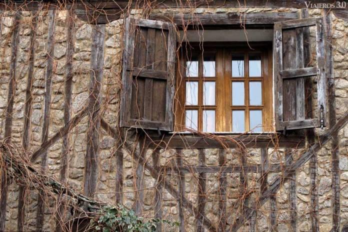 arquitectura tradicional de La Alberca en Salamanca