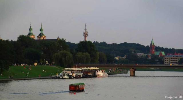 río Vístula en Cracovia