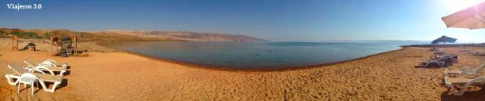 playa en el Mar Muerto, Jordania