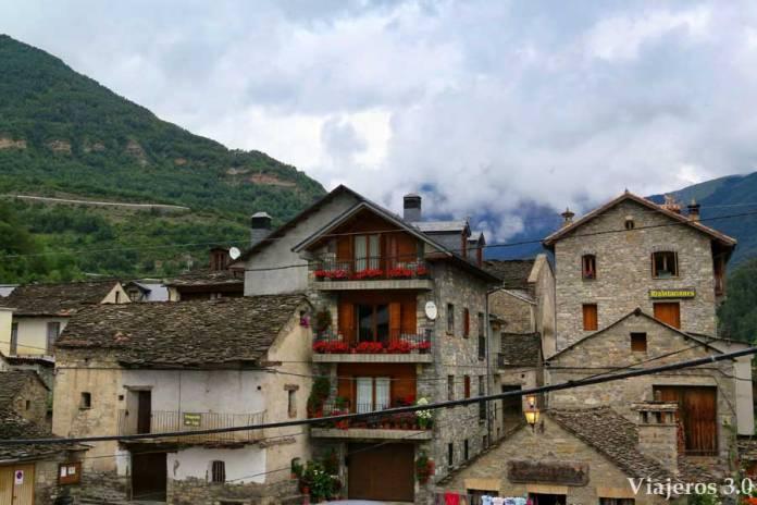 arquitectura tradicional de Broto