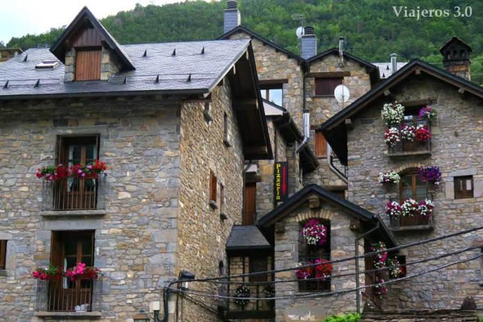 arquitectura tradicional en Torla