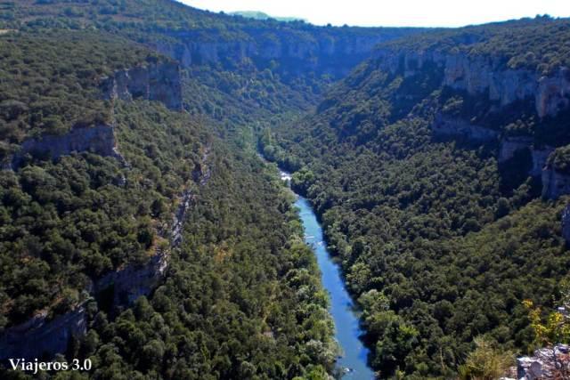 mirador cañón del río Ebro