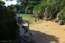 Cala en Forcat diminuta playa en Menorca