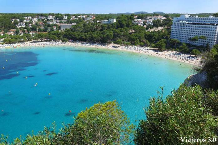 Cala Galdana desde el mirador de Sa Punta en Menorca