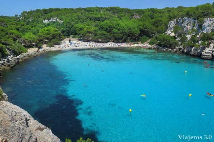 Cala Macarella, las mejores playas de Menorca