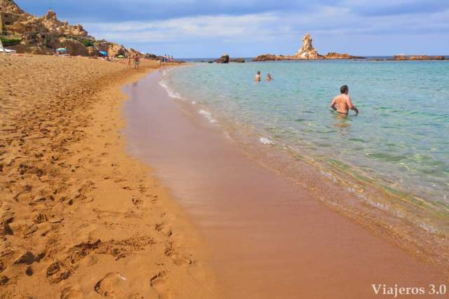 la salvaje Cala Pregonda, que ver en Menorca