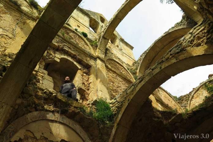 ruinas del monasterio de Rioseco
