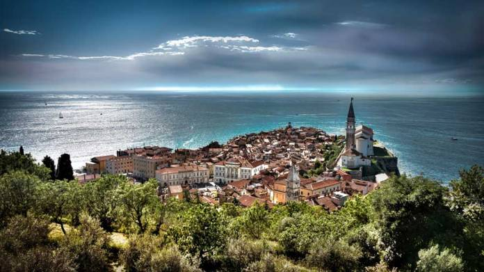 Piran, ciudad costera de Eslovenia