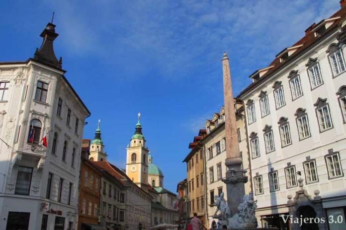 centro histórico de Liubliana, Eslovenia