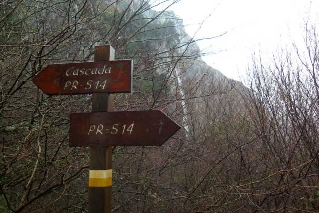 ruta senderismo a la cascada del río Asón