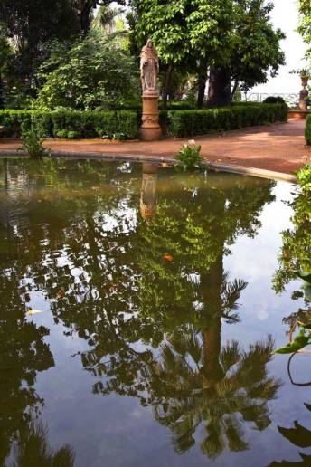 jardines Carmen de los Mártires en Granada