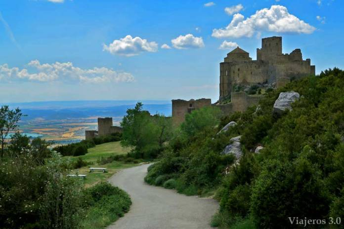 el castillo de Loarre en Huesca