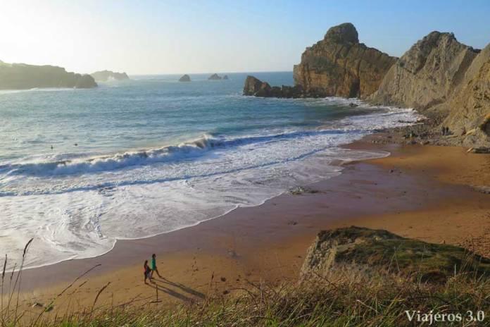 playa de Portio en Costa Quebrada, que ver en Cantabria