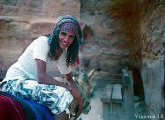 beduinos de Petra
