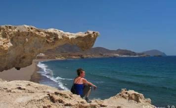 playa del Arco en Cabo de Gata