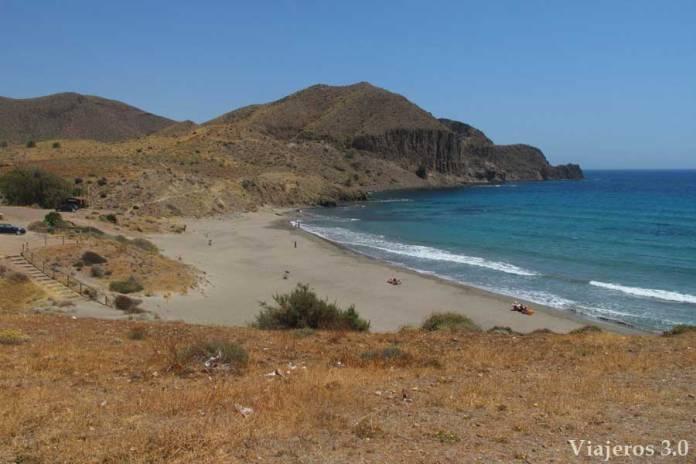 Playa del Arco, las mejores playas de Cabo de Gata