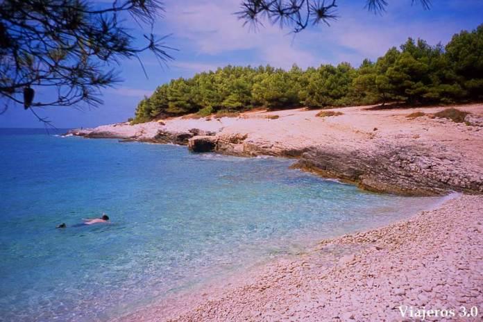 península de Kamenjac en Croacia